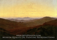 The Riesengebirge by Caspar David Friedrich
