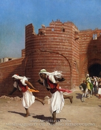The Runners of the Pasha by Jean-Leon Gerome
