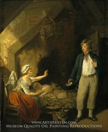 The Sailor's Return painting reproduction, Francis Wheatley