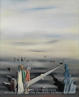 The Satin Tuning Fork by Yves Tanguy