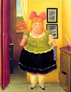 The Seamstress painting reproduction, Fernando Botero