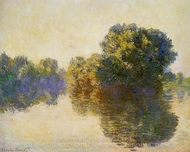 The Seine near Giverny painting reproduction, Claude Monet