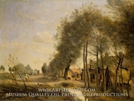 The Sin-le-Noble Road near Douai by Jean-Baptiste Camille Corot