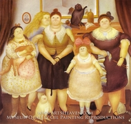 The Sisters by Fernando Botero