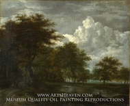 The Skirts of a Forest by Jacob Van Ruisdael
