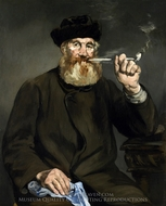 The Smoker painting reproduction, Edouard Manet
