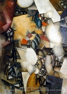 The Smokers by Fernand Leger