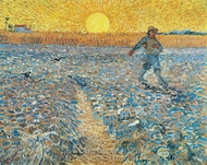The Sower painting reproduction, Vincent Van Gogh