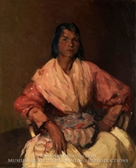 The Spanish Gypsy by Robert Henri