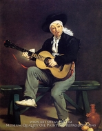 The Spanish Singer (Guitarrero) by Edouard Manet