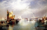The Splendor of Venice by Thomas Moran