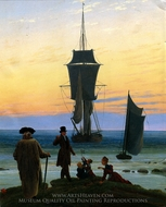 The Stages of Life painting reproduction, Caspar David Friedrich