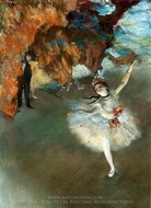 The Star (L'etoile) painting reproduction, Edgar Degas