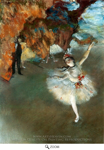 Edgar Degas, The Star (L'etoile) oil painting reproduction