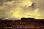 The Storm painting reproduction, George Inness