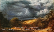 The Storm (The Refuge) painting reproduction, John Linnell