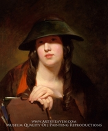 The Student by Thomas Sully