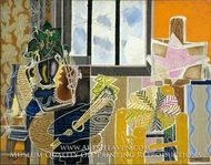 The Studio (Vase before a Window) by Georges Braque