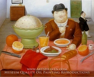 The Supper by Fernando Botero