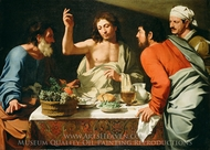 The Supper at Emmaus painting reproduction, Bartolomeo Cavarozzi