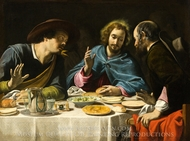 The Supper at Emmaus painting reproduction, Filippo Tarchiani