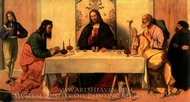 The Supper at Emmaus painting reproduction, Vincenzo Catena