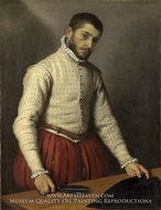 The Tailor (Il Tagliapanni) by Giovanni Battista Moroni