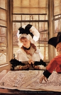 The Tedious Story painting reproduction, James Tissot