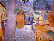 The Terrace at Vernonnet by Pierre Bonnard