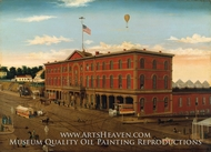 The Third Avenue Railroad Depot by William H. Schenck