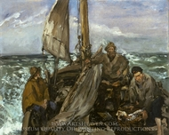 The Toilers of the Sea painting reproduction, Edouard Manet