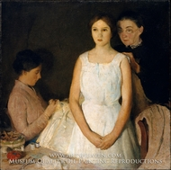 The Trousseau by Charles Webster Hawthorne