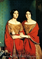 The Two Sisters painting reproduction, Theodore Chasseriau
