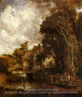 The Valley Farm by John Constable