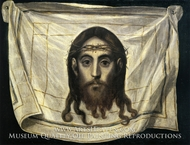 The Veil of Saint Veronica by El Greco