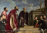 The Vendramin Family by Titian