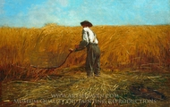 The Veteran in a New Field painting reproduction, Winslow Homer