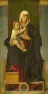 The Virgin and Child painting reproduction, Francesco Tacconi