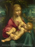 The Virgin and Child by Leonardo Da Vinci