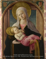 The Virgin and Child by Filippino Lippi