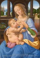 The Virgin and Child painting reproduction, Lorenzo Di Credi