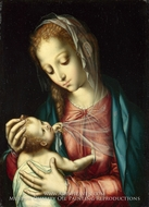 The Virgin and Child by Luis De Morales