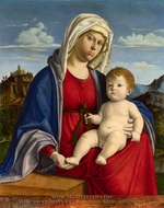 The Virgin and Child painting reproduction, Cima Da Conegliano
