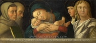 The Virgin and Child with Four Saints painting reproduction, Francesco Bonsignori