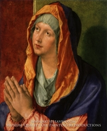The Virgin Mary in Prayer by Albrecht Durer