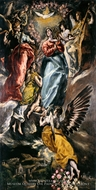The Virgin of the Immaculate Conception by El Greco