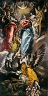 The Virgin of the Immaculate Conception painting reproduction, El Greco