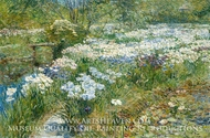 The Water Garden by Childe Hassam