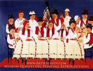 The Wedding painting reproduction, Anuta Tite