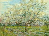 The White Orchard painting reproduction, Vincent Van Gogh